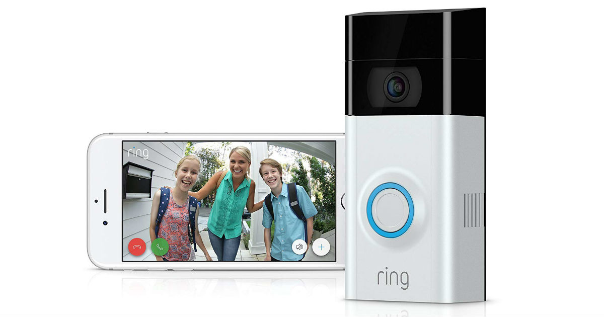 Save $30 on Ring Video Doorbell on Amazon