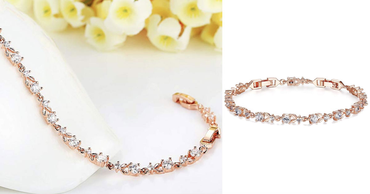Rose Gold Plated Bracelet ONLY...