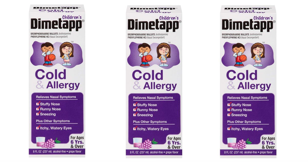 Children's Dimetapp Only $0.34 at Target (Reg. $5.79)