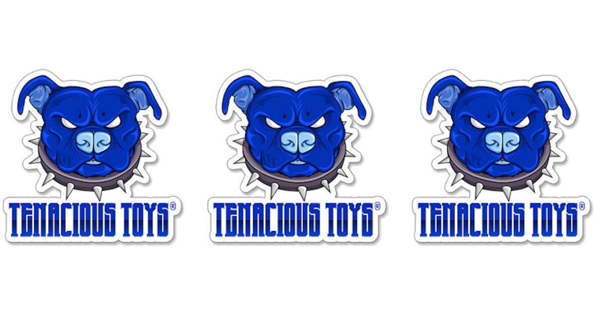 FREE Tenacious Toys Sticker...