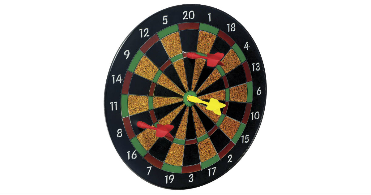 Toysmith Magnetic Dart Board ONLY $13.01 (Reg. $30)