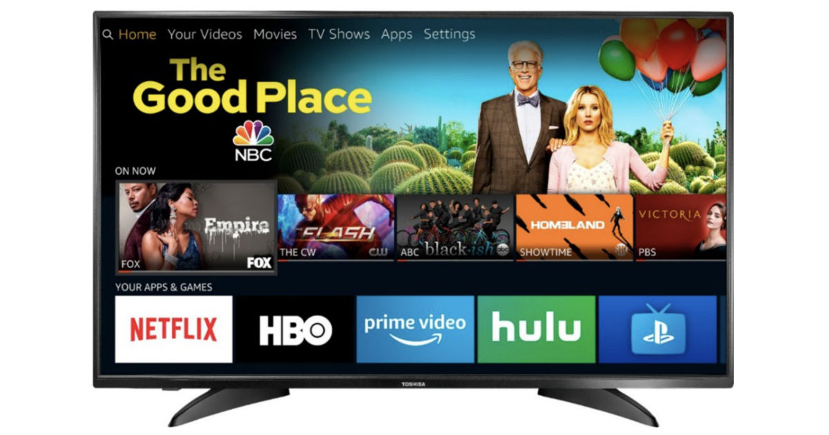 Toshiba 43-In Smart HDTV Fire TV Edition ONLY $179.99 (Reg $300)