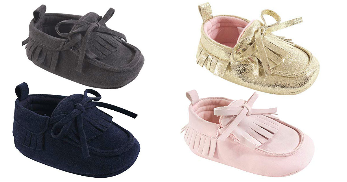 Hudson Baby Moccasins ONLY $8.