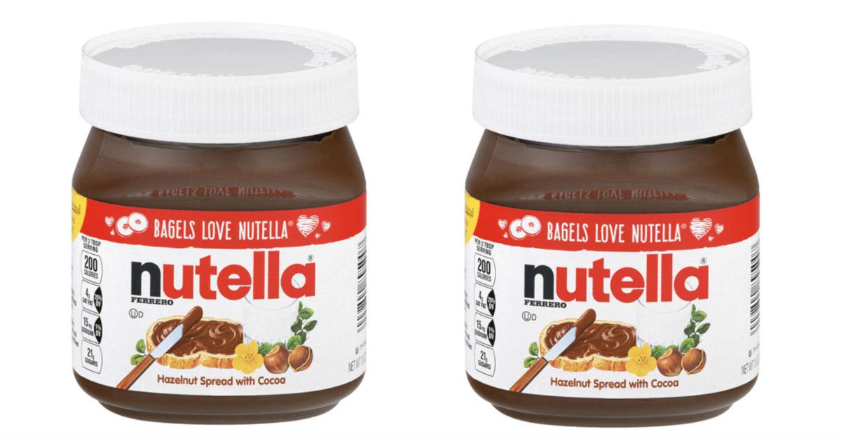 Nutella Hazelnut Spread ONLY $1.49 at Target (Reg $3.49)