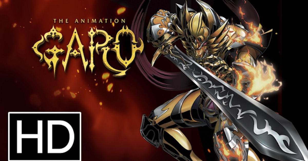 FREE Garo The Animation Season...