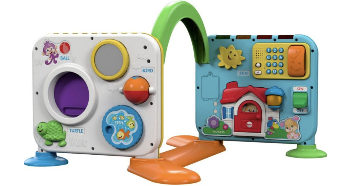 Mattel Laugh & Learn Crawl-Around Learning Center ONLY $17.99