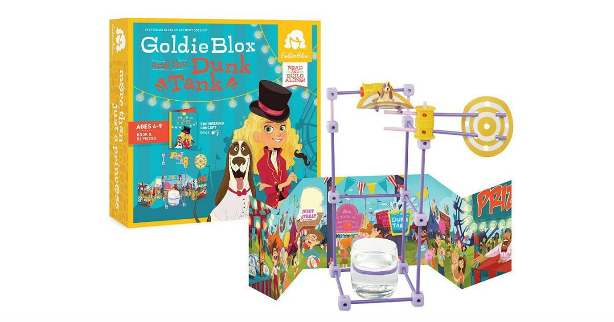 GoldieBlox Dunk Tank on Amazon