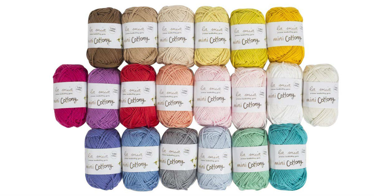 20 Skein Cotton Mini Yarn ONLY $9.99 (Reg. $20)