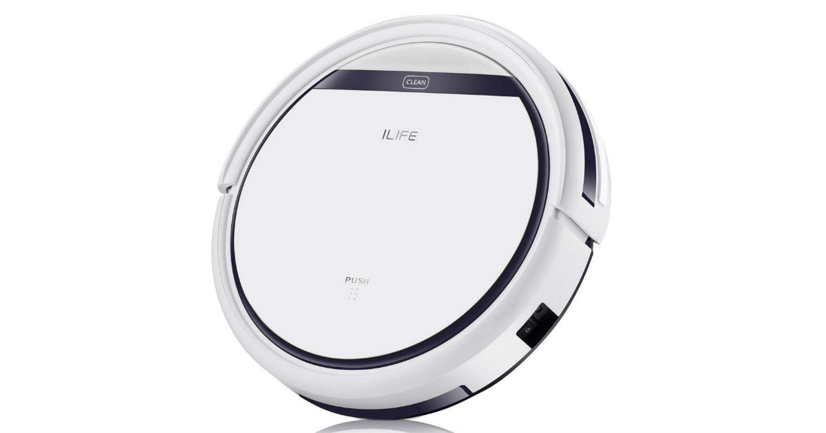 ILIFE Robotic Vacuum on Amazon