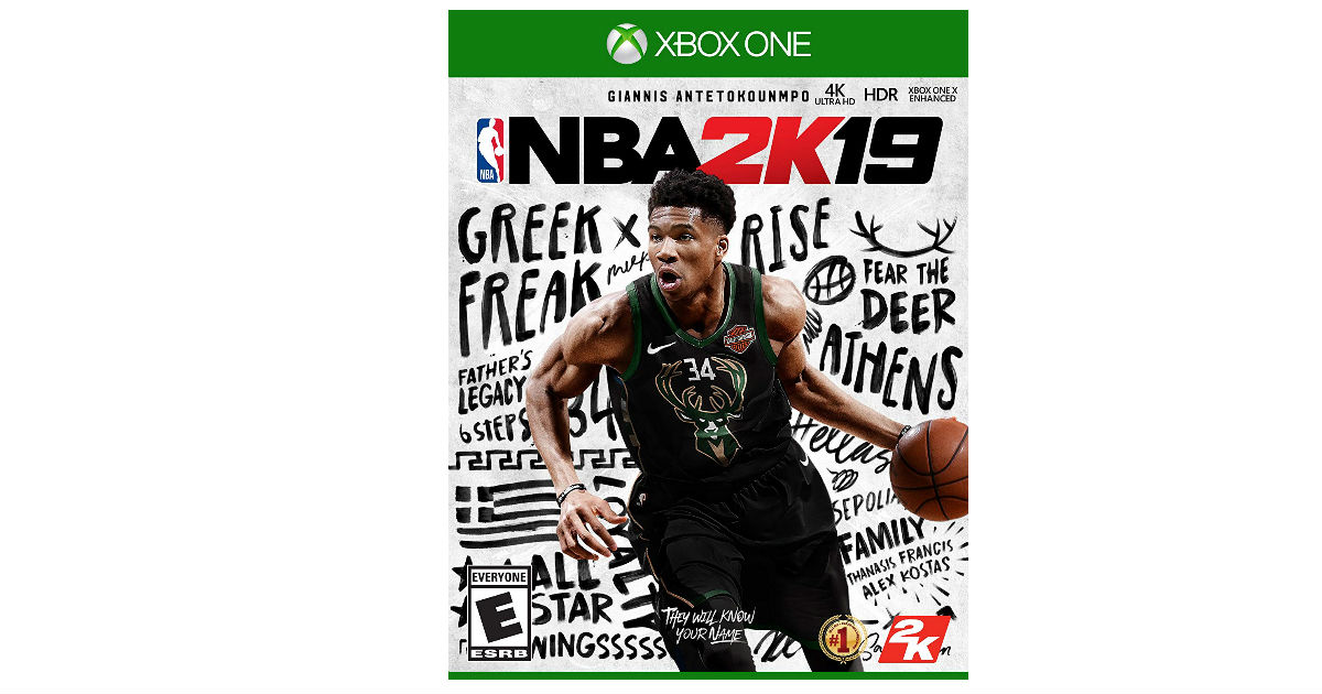 NBA 2K19 for Xbox One ONLY $27.99 (Reg. $60)