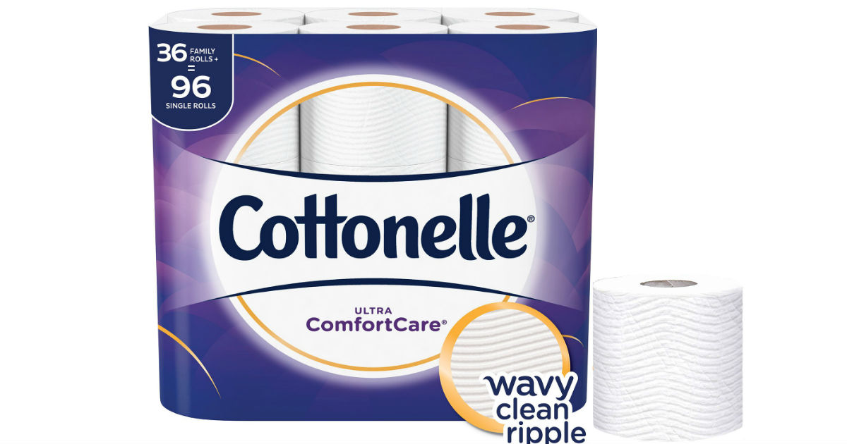 Cottonelle Ultra Toilet Paper Family Size ONLY $18.74 Shipped