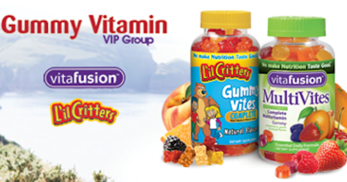 Vitafusion Gummy Vitamins