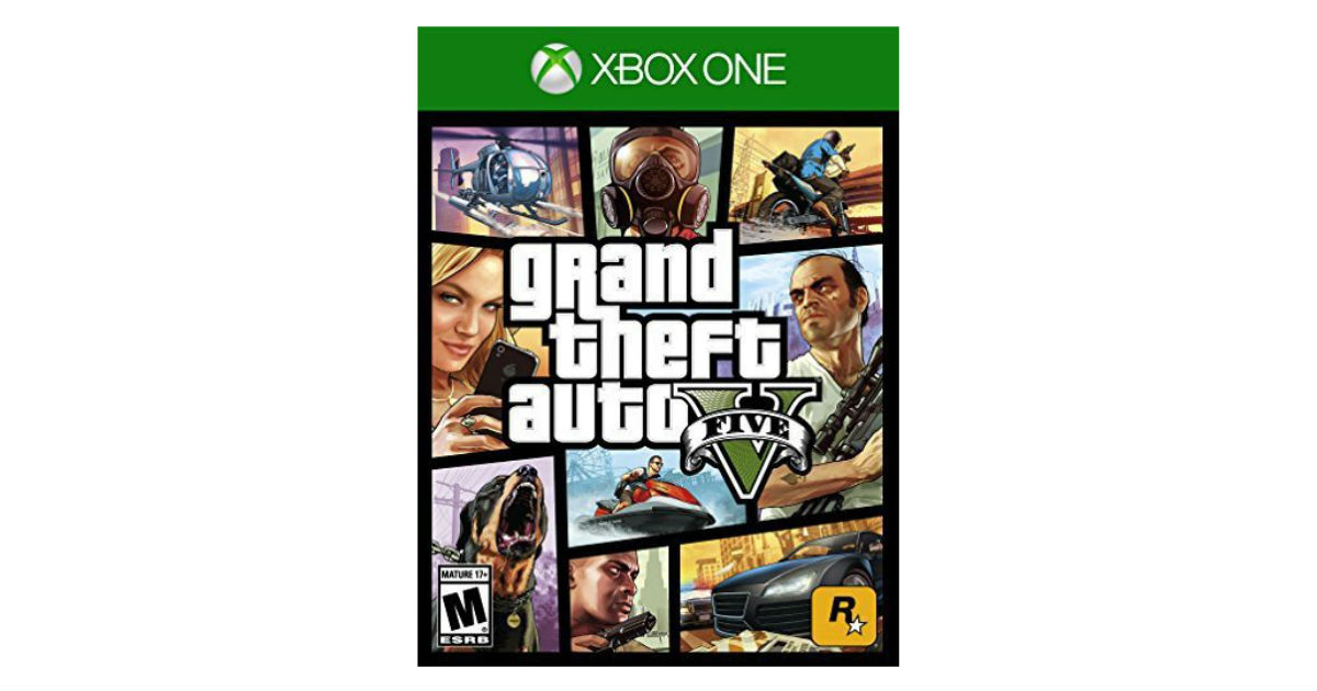 Grand Theft Auto V for Xbox One ONLY $15 (Reg. $30)