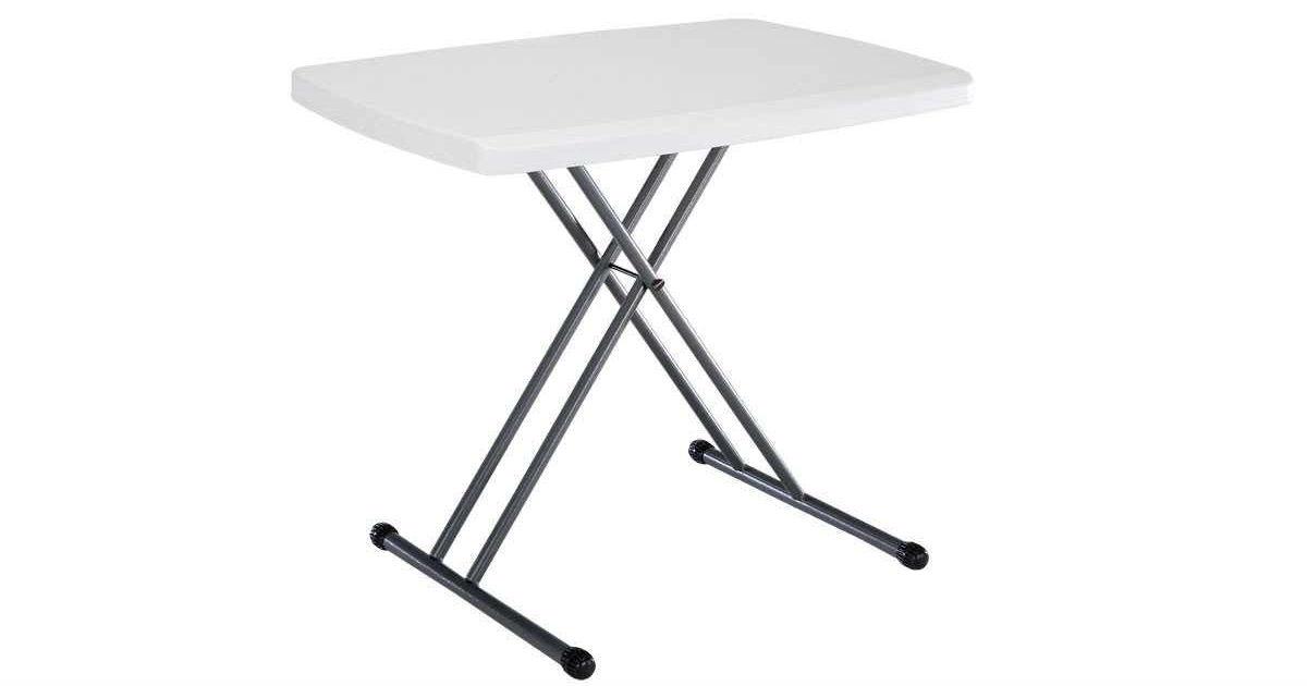Lifetime Folding Laptop Table ONLY $32.54 (Reg. $57)