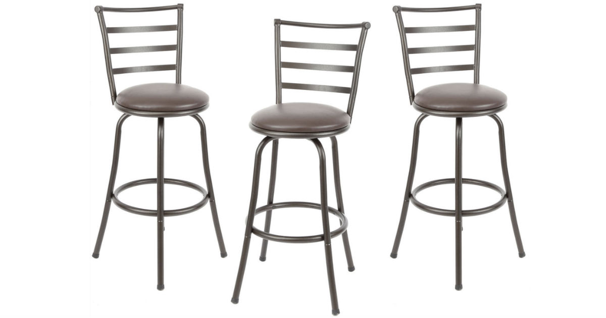 Mainstays 3-Piece Barstool Set ONLY $59 Shipped
