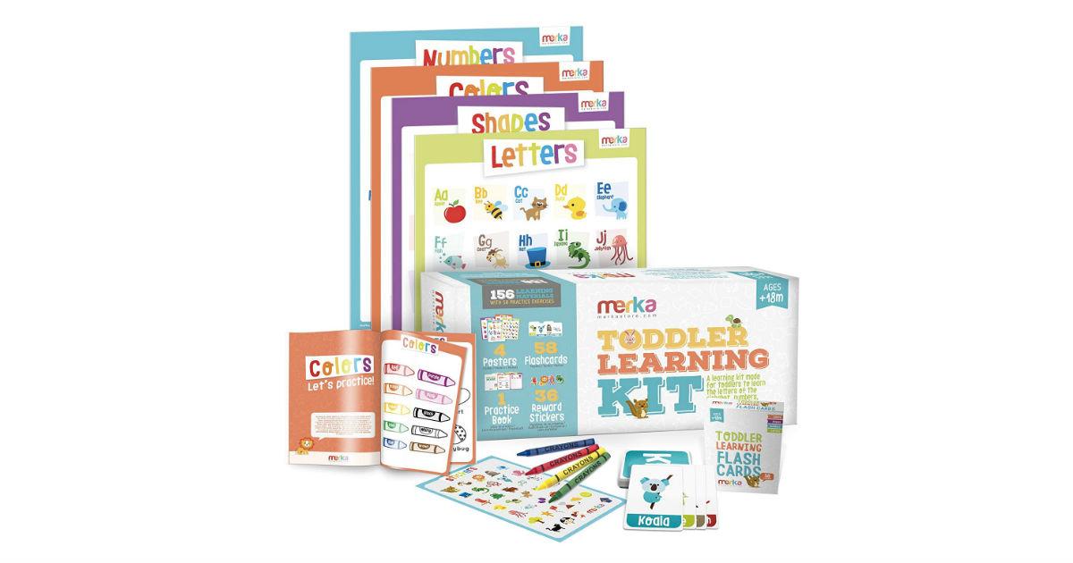Merka Toddler Learning Kit ONLY $14.99 (Reg. $30)