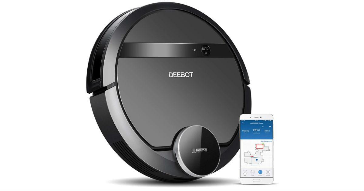 ECOVACS DEEBOT Robotic Vacuum ONLY $299.99 (Reg. $500)