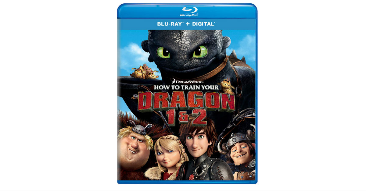 How to Train Your Dragon 1 & 2 on Amazon