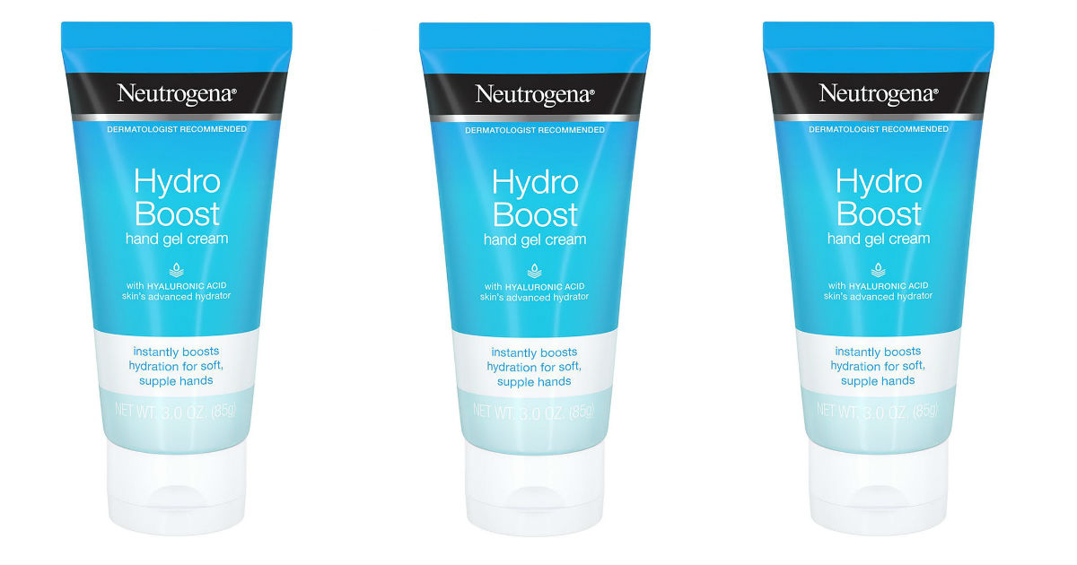 Neutrogena Hydro Boost Hand Gel Cream Only $2.93 at Walmart
