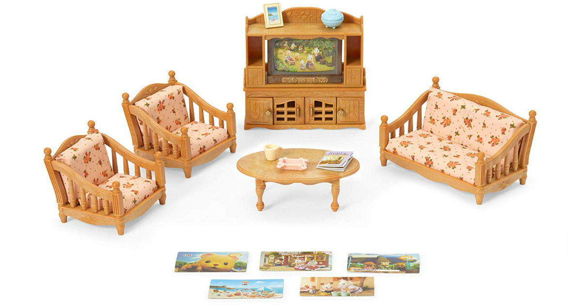 Calico Critters Comfy Living Room Set ONLY $10.59 (Reg. $20)
