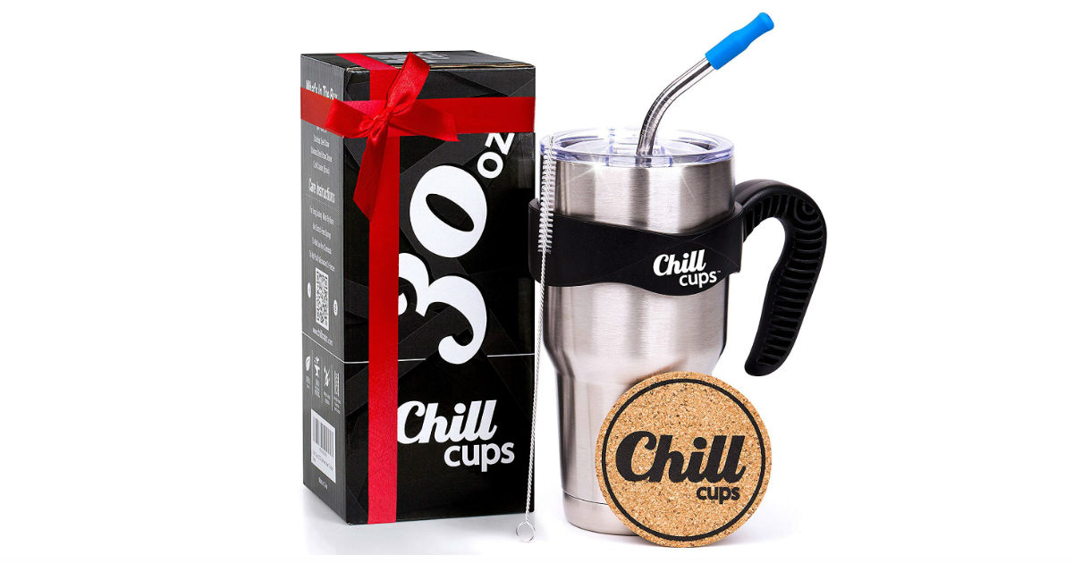 Chill Cups Coffee Thermal Mug ONLY $16.97 (Reg. $40)