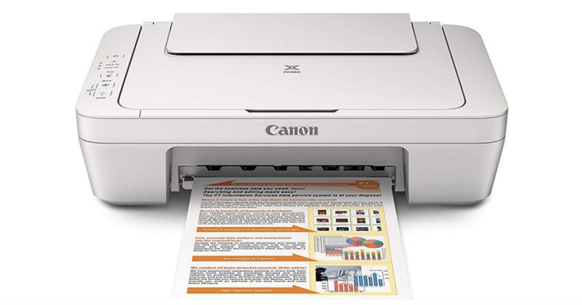 Canon Pixma Multifunction Color Inkjet Printer Only 21 37 Daily Deals Coupons