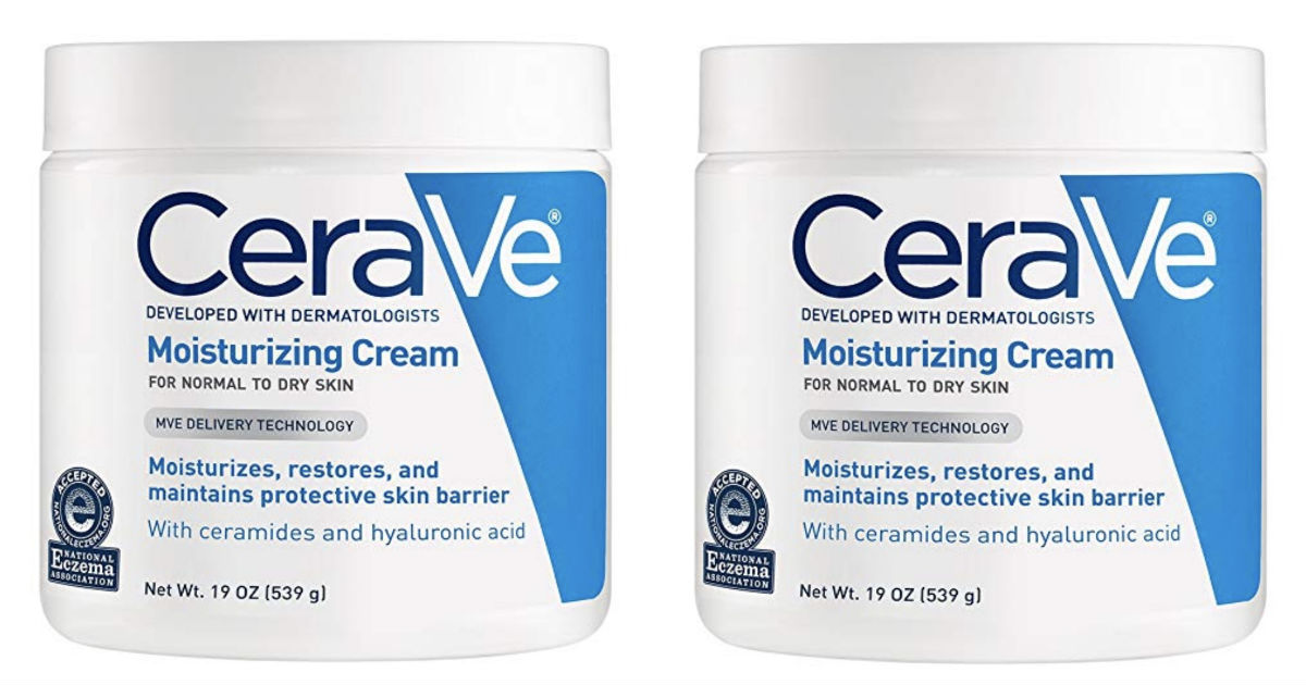 CeraVe Moisturizing Cream 19 oz Tub ONLY $11.71 Shipped