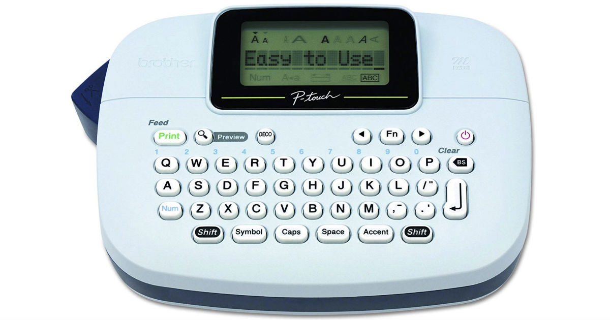 Brother P-Touch PT-M95 Label Maker ONLY $9.99 (Reg $50)