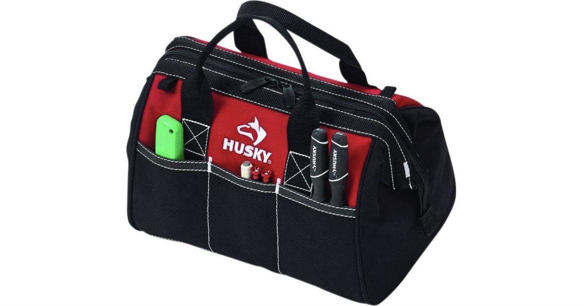 Husky Tool Bag ONLY $4.88 at Home Depot (Reg $10)
