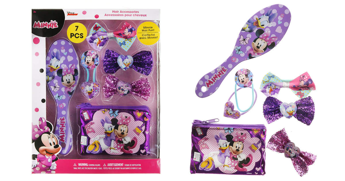 TownleyGirl Minnie Mouse Hair Set ONLY $7.90 (Reg. $16.50)