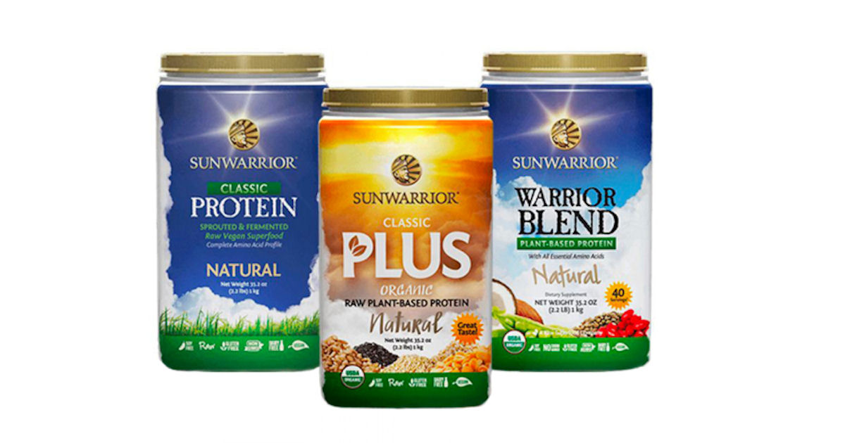 FREE Plant Based Protein Powde...