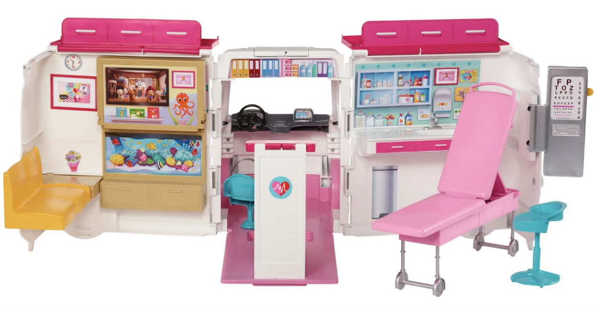 Barbie Care Clinic Playset ONLY $35.99 at Target (Reg $45)