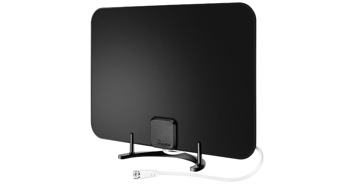 Rocketfish Ultra Thin HDTV Antenna ONLY $19.99 (Reg $50)