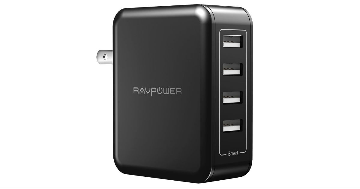 RAVPower USB Wall Charger ONLY $11.99 (Reg. $19)
