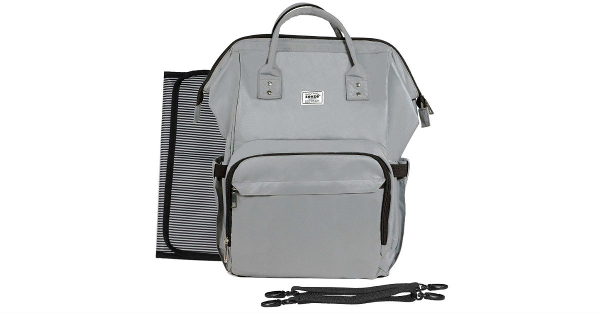 Zohzo Diaper Bag Backpack ONLY $13.99 (Reg. $25)