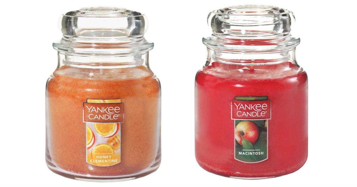 Get 2 FREE Medium Jar Candles at Yankee Candle