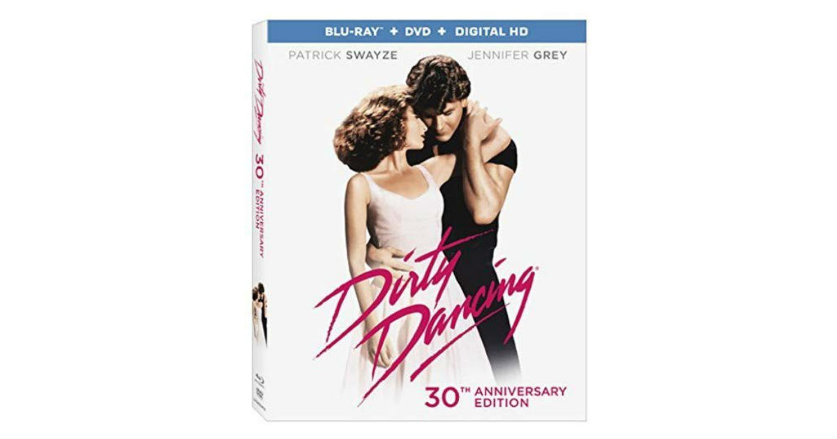 Dirty Dancing 30th Anniversary on Blu-ray ONLY $5.00 on Amazon