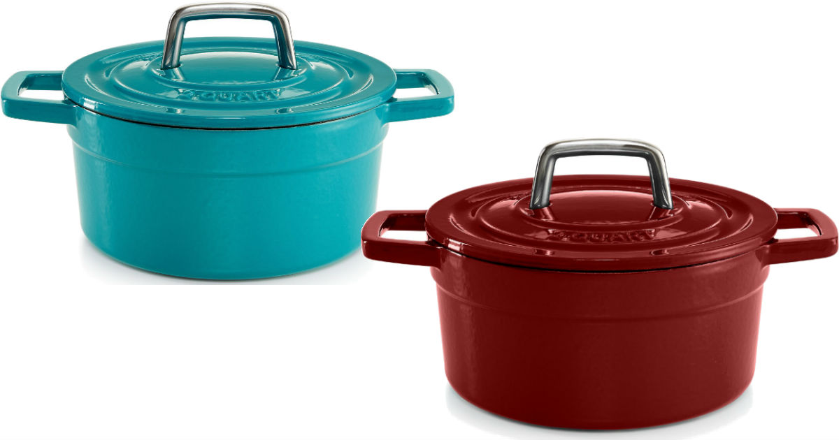 Martha Stewart Cast Iron 2-Qua...