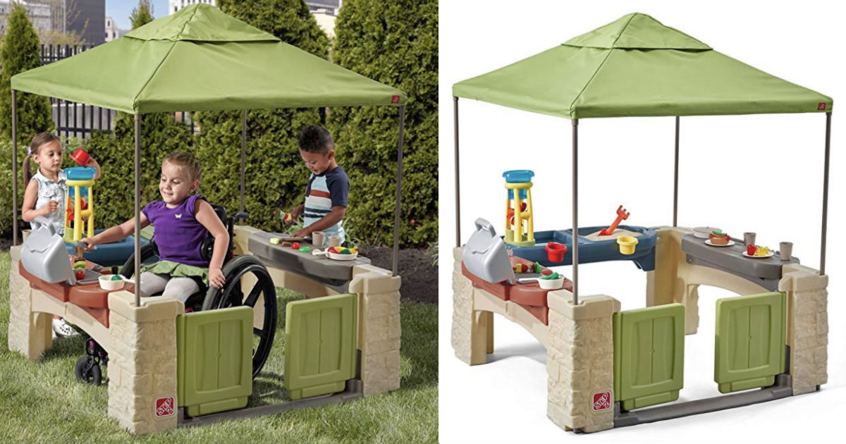 Step2 Playtime Patio with Canopy Playhouse ONLY $139.99 Shipped