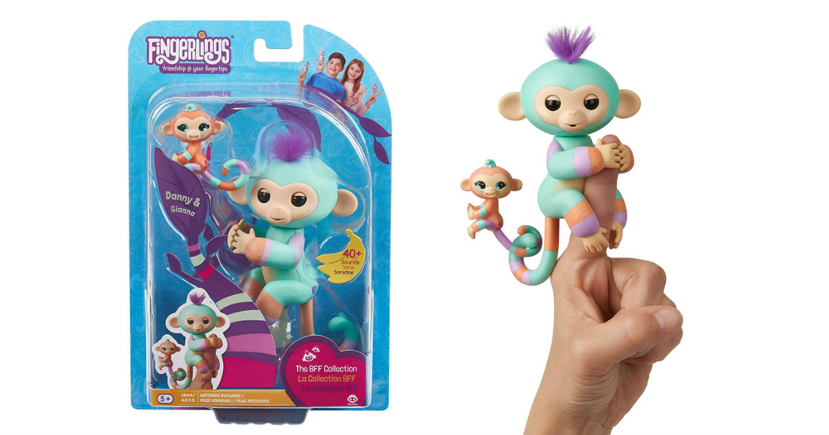 Fingerlings Baby Monkey &a...