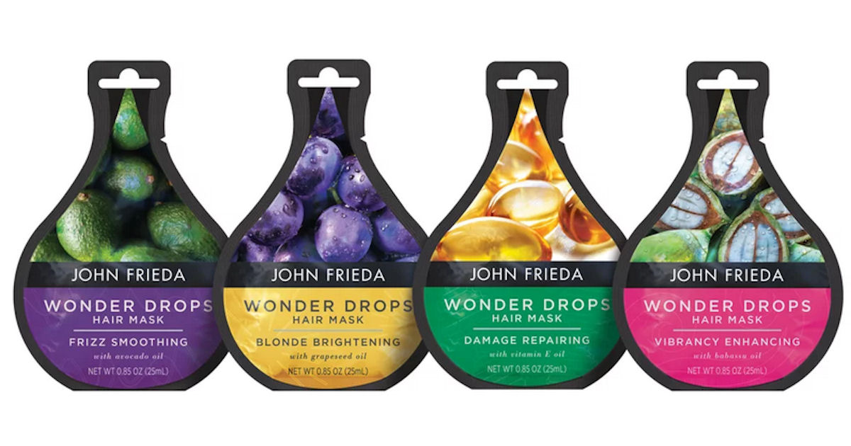 FREE John Frieda Wonder Drops.