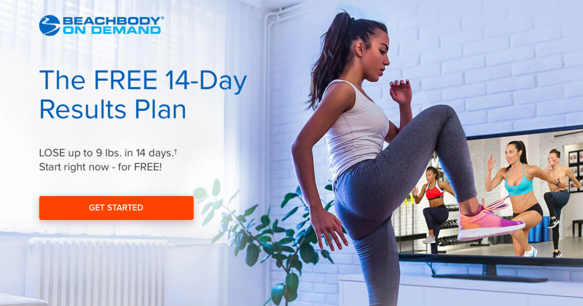 FREE 14-Day Results Plan with BeachBody