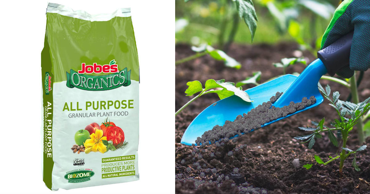 Jobe's Organics Granular Fertilizer ONLY $15.62 (Reg. $32)