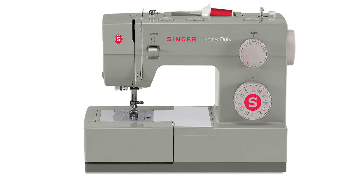 Singer Heavy Duty Sewing Machine on Amazon
