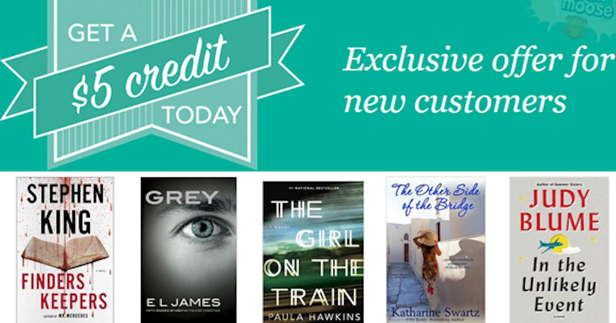 FREE $5 Kobo eBooks Credit!