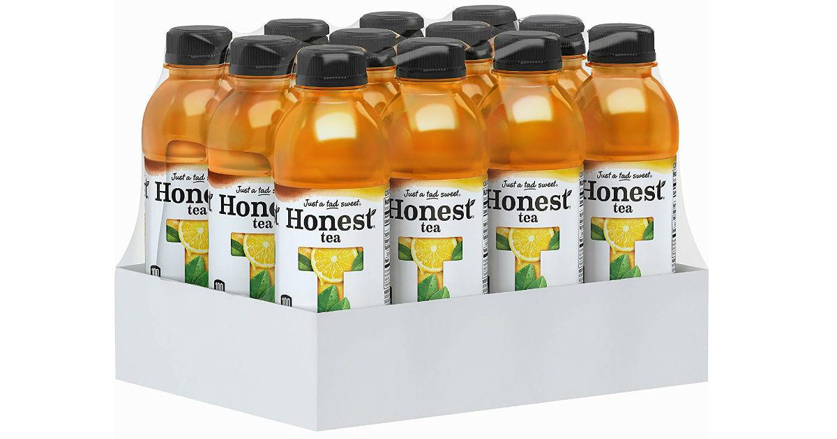 Honest Tea Organic Fair Trade 12-Pack ONLY $11.40 Shipped