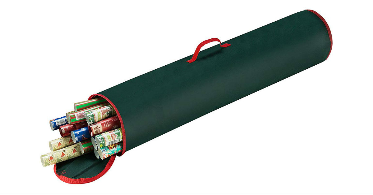 Elf Stor Wrapping Paper Storage Bag on Amazon