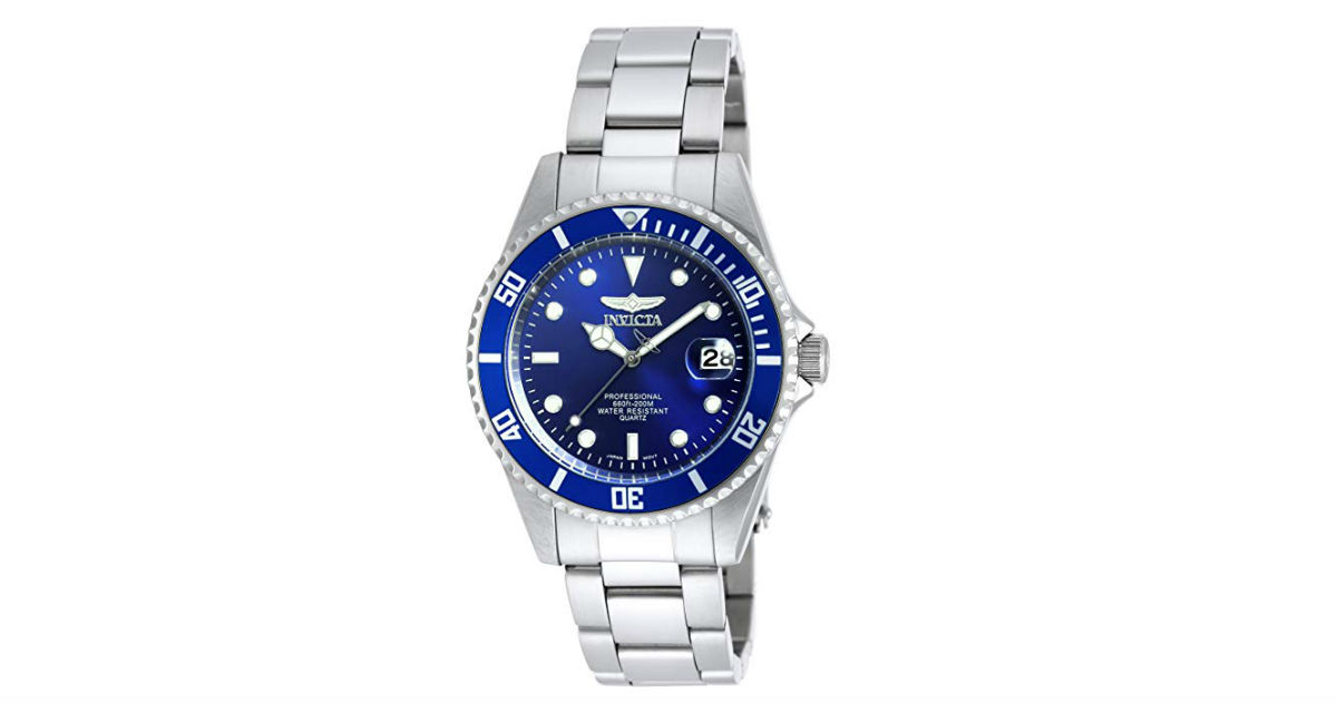 Invicta Men's Pro Diver Watch on Amazon