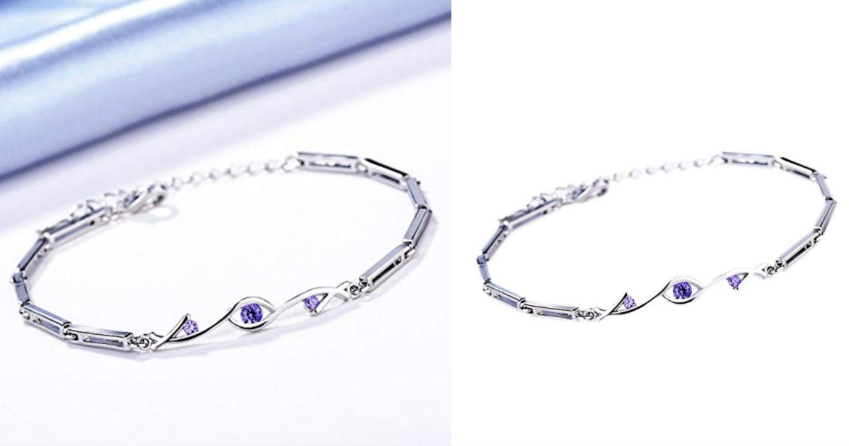 Bracelet Bangle Charm with Pur...