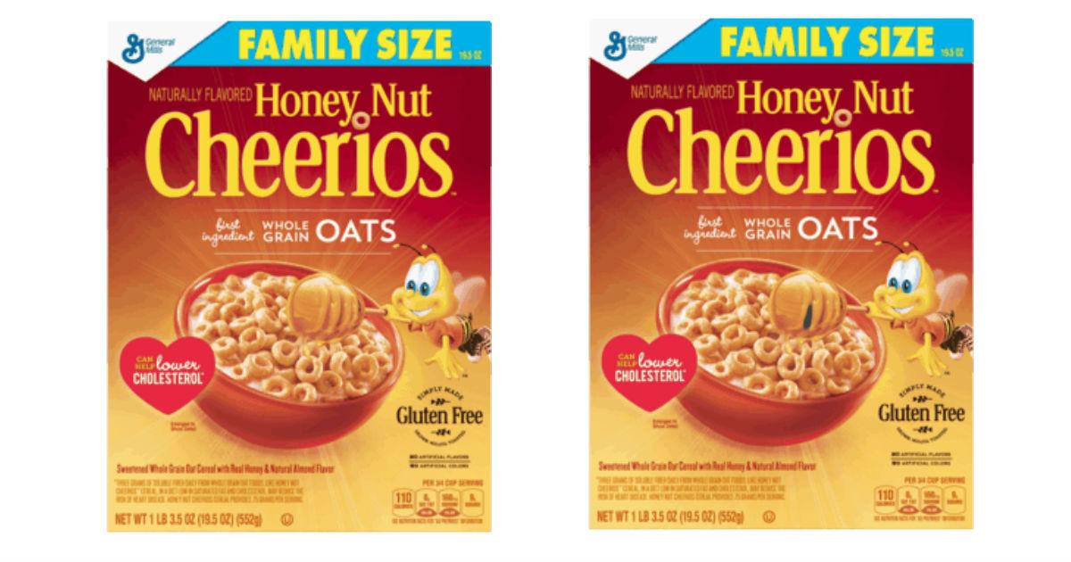 photograph regarding Cheerios Coupons Printable identify Cheerios Family members Dimension Cereal Simply $1.64 at Walmart (Reg